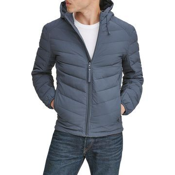 Marc New York Mens Packable Hooded Jacket