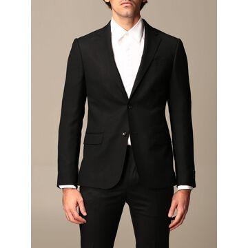 Z Zegna Blazer Z Zegna Single-breasted Jacket In Textured Wool