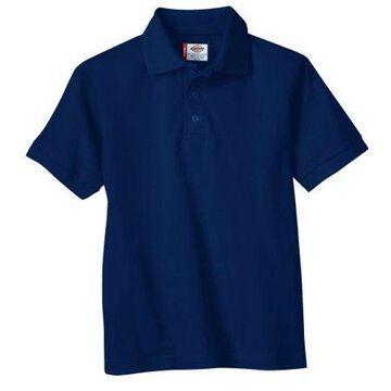 Genuine Dickies Boys School Uniform Short Sleeve Pique Polo (Big Boys)