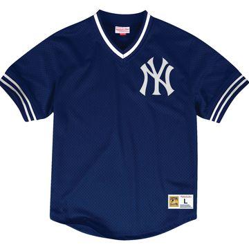 Mitchell & Ness Men's Replica New York Yankees White Cooperstown Jersey