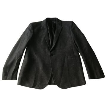Thierry Mugler \N Anthracite Cotton Jackets