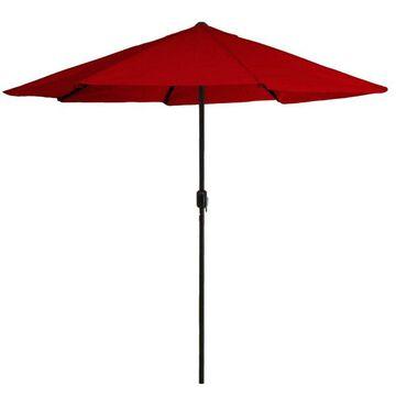 Outdoor Patio Umbrella Poolside Garden Backyard Study Adjustable Height Canopy
