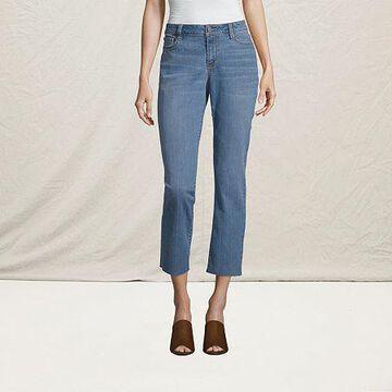 a.n.a - Mid-Rise Ankle Straight Leg Jean- Tall
