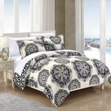 Chic Home Ibiza 3 Pc Full/Queen Duvet Cover Set Bedding
