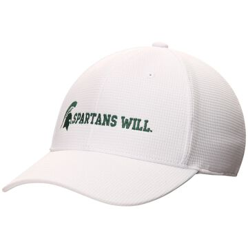 Michigan State Spartans Top of the World Spartans Will Booster Flex Hat - White -