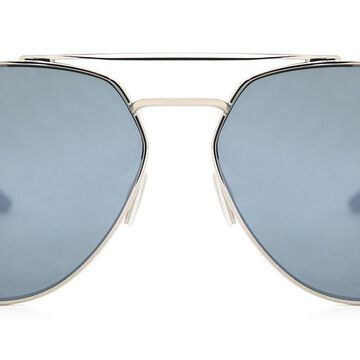 Smith WESTGATE Polarized 010/OP Men's Sunglasses Silver Size 60