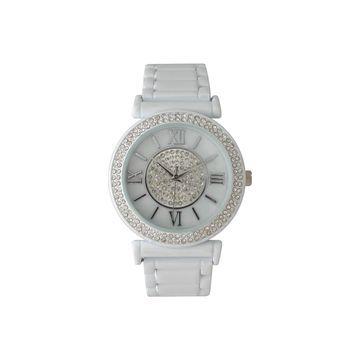 Olivia Pratt Unisex White Bracelet Watch-514422