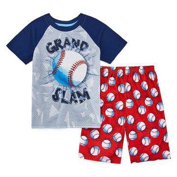 Rene Rofe Beast Mode 2-pc. Shorts Pajama Set Preschool / Big Kid Boys