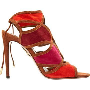 Aquazzura Brown Suede Sandals