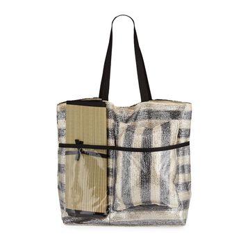 Three-Piece Sunbathing Set Tote Bag