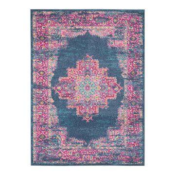 Nourison Passion Bohemian Vintage Rug, Blue, 22X34