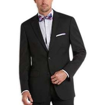 Pronto Uomo Charcoal Gray Modern Fit Suit