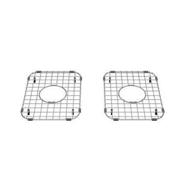 American Standard Delancey Sink Grid Set for 30-in x 19-in Double Bowl Kitchen Sinks in Stainless Steel