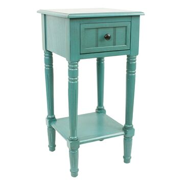 Decor Therapy Simplify One-Drawer Accent Table