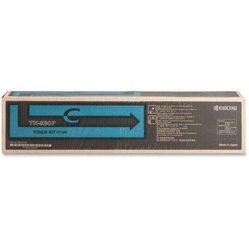 Kyocera TASKalfa 3050ci, 3051ci, 3550ci, 3551ci Cyan Toner Cartridge (15,000 Yield)
