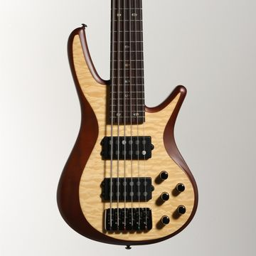 FB706 Fusion Series 6-String Bass Guitar with Active EQ Natural