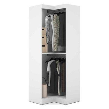 Bestar Pur By Bestar Corner Storage Unit, White