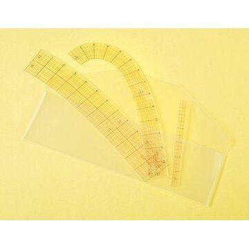 Clover Curve Ruler 3/Pkg-