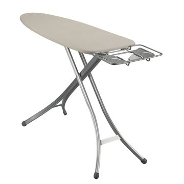 Household Essentials& Lightweight Wide Top Ironing Board with Aluminum Legs