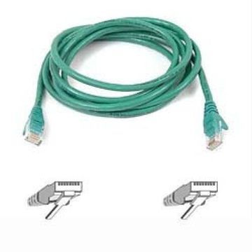 Belkin High Performance - Patch cable - RJ-45 (M) - RJ-45 (M) - 4 ft - UTP - CAT 6 - molded, snagless - green - for Omniview SMB 1x16, SMB 1x8, OmniView SMB CAT5 KVM Switch