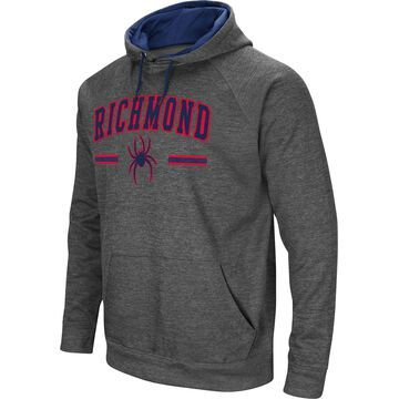 Colosseum Men's Richmond Spiders Grey Pullover Hoodie