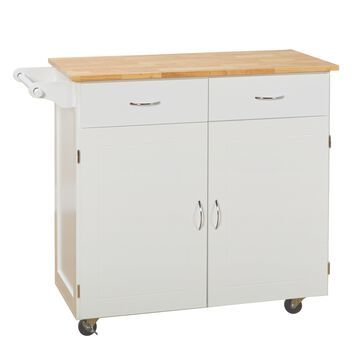 Simple Living Kipton Kitchen Cart