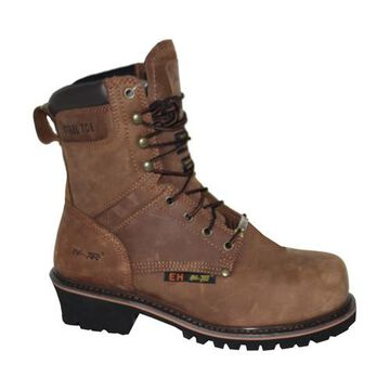 "AdTec Men's 9"" Super Logger Steel Toe Work Boots"