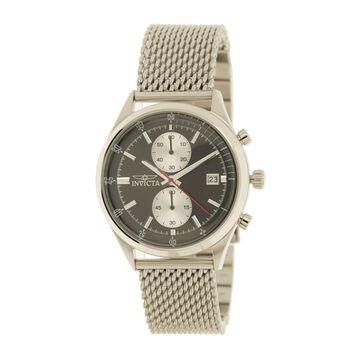 Men's Pro Diver Chronograph Mesh Bracelet Watch, 43mm