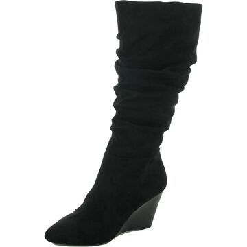 Charles by Charles David Womens Knee-High Boots Slouchy Wedge Heel