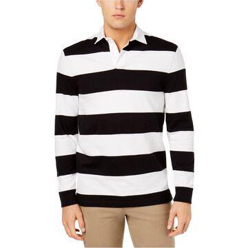Club Room Mens Stripe Rugby Polo Shirt