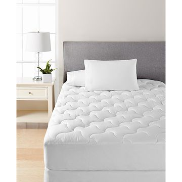 Dream Science Quilted Queen Mattress Pad by Martha Stewart Collection, Created for Macy's
