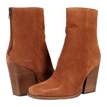 Seychelles Every Time You Go (Cognac Suede) Women's Shoes