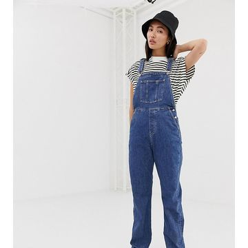 Weekday denim overalls in light blue
