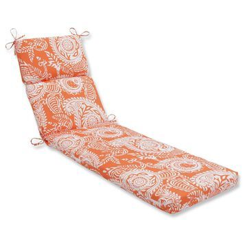 Outdoor/Indoor Chaise Lounge Cushion - Pillow Perfect