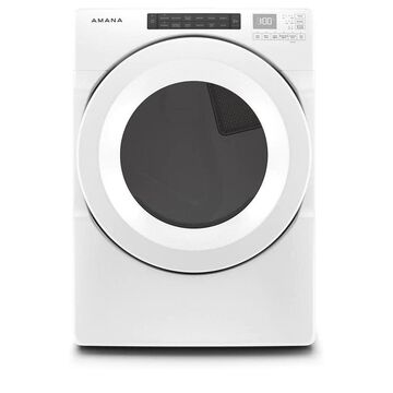 Amana 7.4-cu ft Stackable Electric Dryer (White) ENERGY STAR | NED5800HW