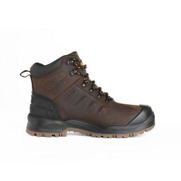 DEWALT Size: 9 Medium Mens Brown Waterproof Waterproof Steel Toe Work Boots