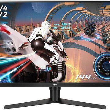 """LG 32"""" Black UltraGear QHD Gaming Monitor With FreeSync"""