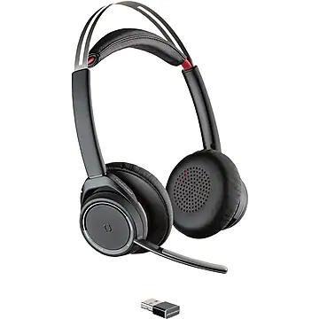 Plantronics Voyager Focus UC Wireless Stereo Bluetooth Headset, Black (202652-101)