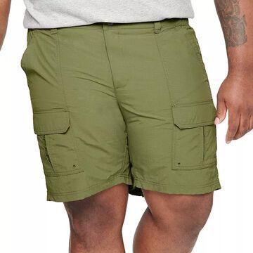 Big & Tall Croft & Barrow Outdoor Ripstop Cargo Shorts, Men's, Size: 54, Dark Green