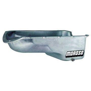 Moroso Stock Replacement Engine Oil Pan 7-1/8 in Deep Pontiac V8 P/N 20492
