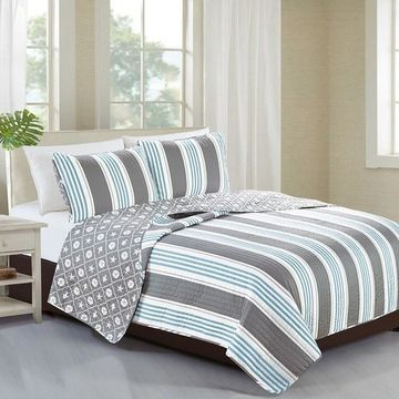 Home Fashion Designs St. Croix Collection Quilt Set