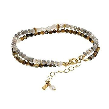 Chan Luu Abalone Double Strand Bracelet