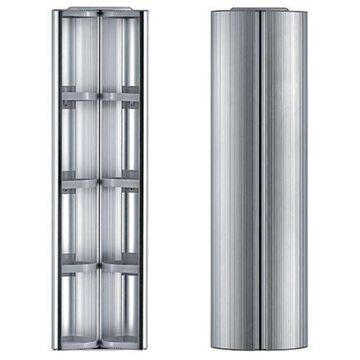Whitehaus WHRAX-48 Vertical wall mount storage cabinet