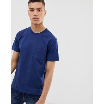 Nudie Jeans Co Kurt worker t-shirt in navy