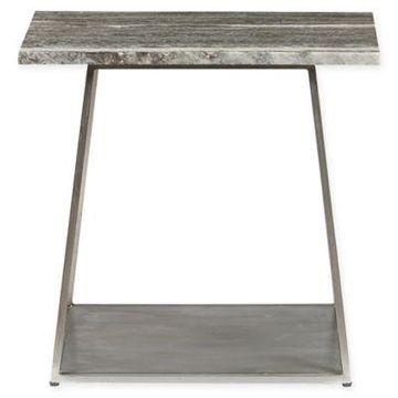Pulaski Grayson End Table in Silver