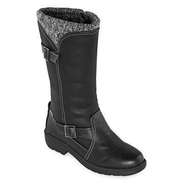 Totes Womens Abigail Waterproof Insulated Winter Boots
