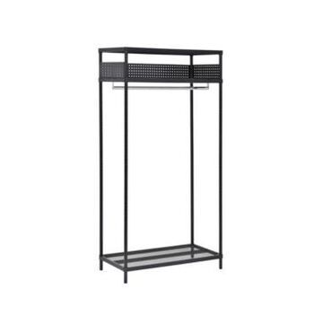 Edsal 3-Shelf Steel Garment Rack
