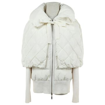 Moncler White Polyester Jackets