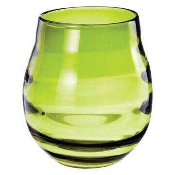 Lazy Susan Olive Ringlet Vase, Small