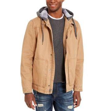 American Rag Men's Brushed Back Fleece Jacket, Created For Macy's